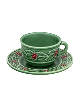 Picture of Holly  - Tea Cup and Saucer
