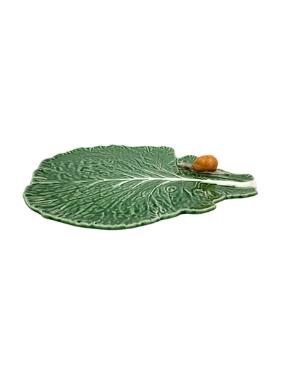 Picture of Leaf With Snail Natural