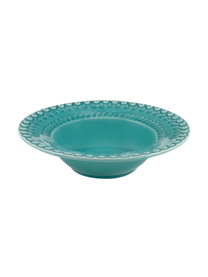 Picture of Fantasy - Soup Plate Acqua Green