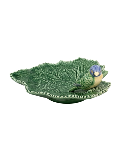 Picture of Cinerária - Ragwort Leaf 19 with Blue Bird