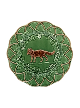 Picture of Hunting - Snack Plate 24 Fox Green/Brown