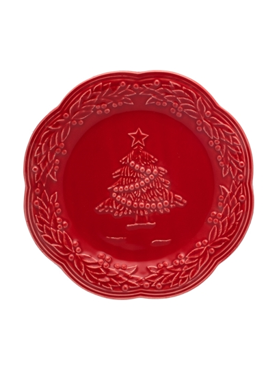 Picture of Christmas - Fruit Plate 21 Red