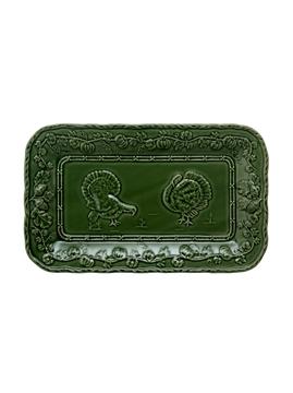 Picture of Turkeys  - Platter 34 Green