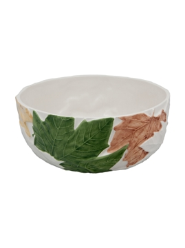 Picture of Plane Tree leaves  - Salad Bowl 20,5 Natural