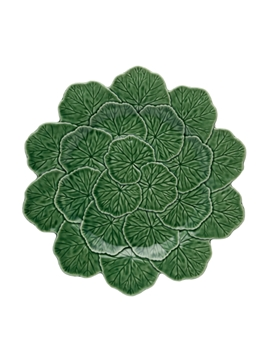 Picture of Geranium - Charger Plate 33 Green
