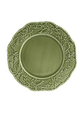 Picture of Artichoke and Bird - Dinner Plate 28 Dark Grey