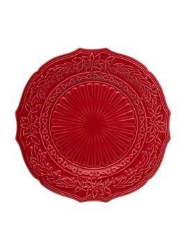 Picture of Christmas - Charger Plate 32 Red