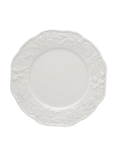 Picture of Artichoke and Bird - Dinner Plate 28 Sandy Grey