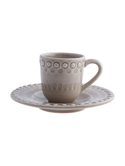 Picture of Fantasy - Coffee Cup and Saucer Oat