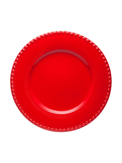 Picture of Fantasy - Charger Plate 34 Red