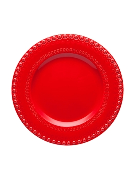 Picture of Fantasy - Dinner Plate 29 Red