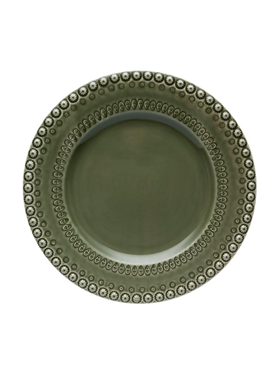 Picture of Fantasy - Dinner Plate 29 Green Olive Tree