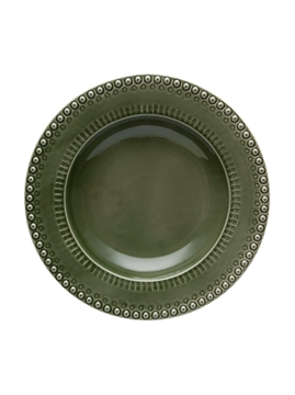 Picture of Fantasy - Pasta Bowl 35 Green Olive Tree