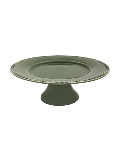 Picture of Fantasy - Cake Stand 34,5 Green Olive Tree