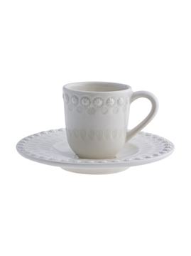 Picture of Fantasy - Coffee Cup and Saucer Sandy Grey