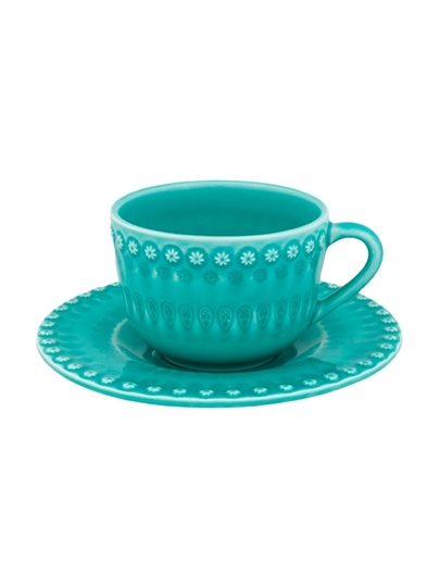 Picture of Fantasy - Tea Cup and Saucer Acqua Green