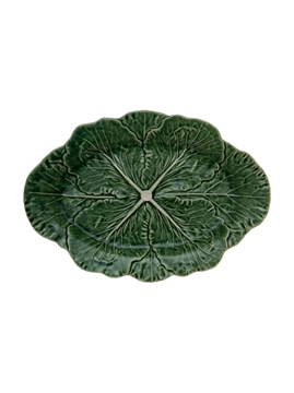 Picture of Cabbage - Oval Platter 37,5 Natural