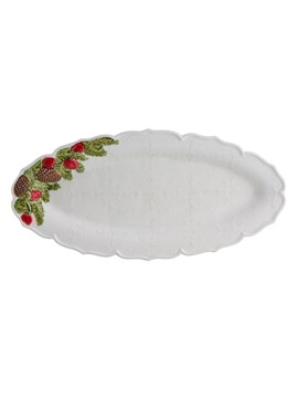 Picture of Christmas Garland - Narrow Platter 40