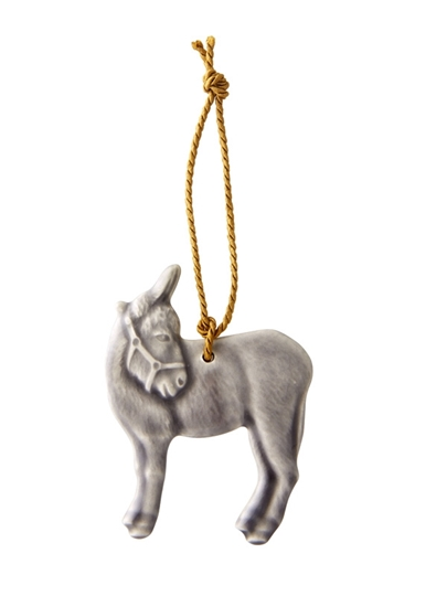 Picture of Christmas Ornaments - Ornament Donkey