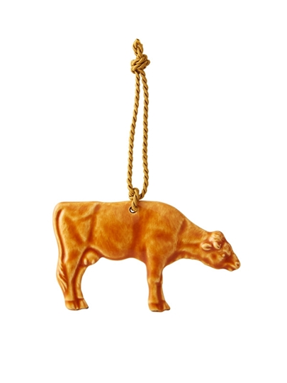 Picture of Christmas Ornaments - Ornament Cow