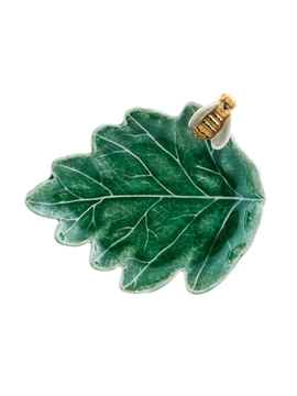 Picture of Countryside Leaves - Oak Tree Leaf with Bee 14cm