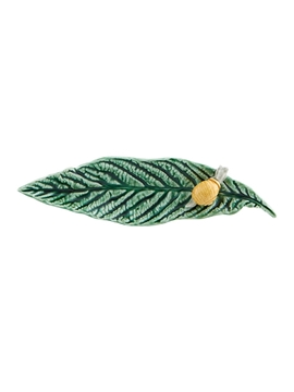 Picture of Countryside Leaves - Medlar Leaf with Snail 25cm