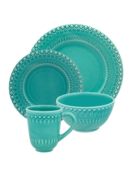 Picture of Fantasy - 16 Pieces Set Aqua Green