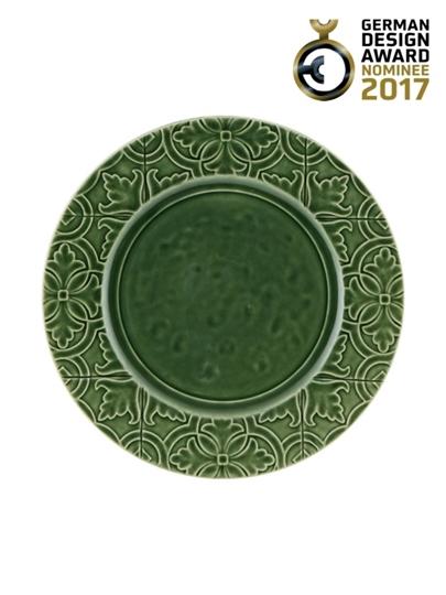 Picture of Rua Nova - Dinner Plate 28 Green