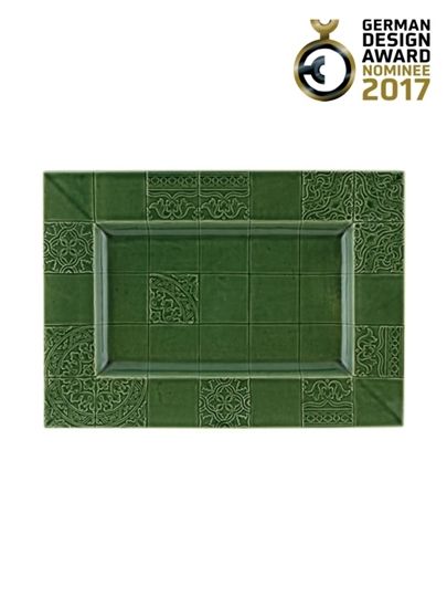 Picture of Rua Nova - Tray 45,5 Green