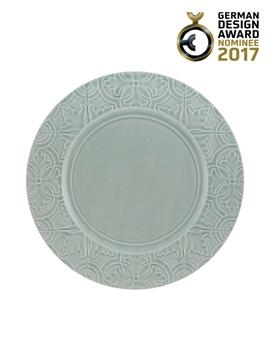 Picture of Rua Nova - Dinner Plate 28 Morning Blue