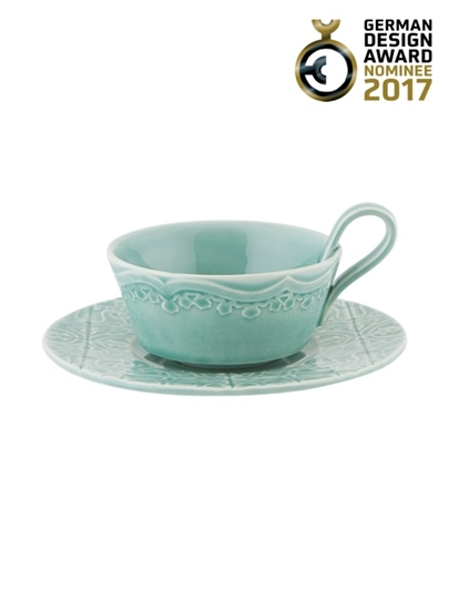 Picture of Rua Nova - Tea Cup and Saucer Morning Blue
