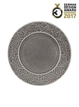 Picture of Rua Nova - Dinner Plate 28 Anthracite