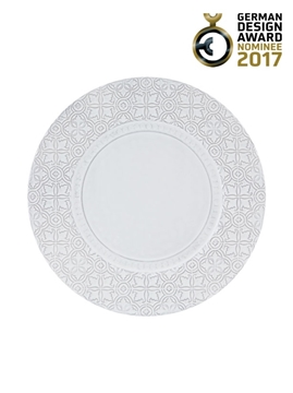 Picture of Rua Nova - Charger Plate 34 White Antique