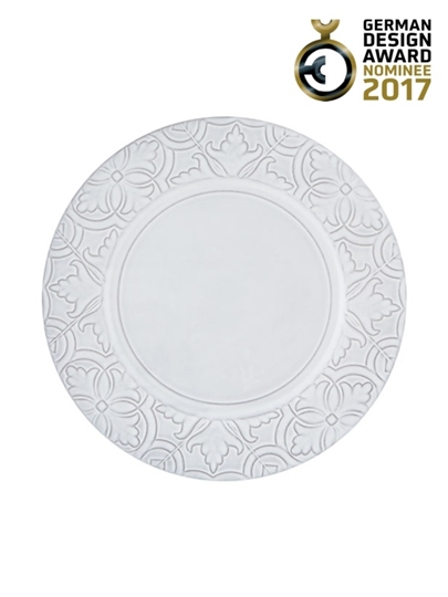 Picture of Rua Nova - Dinner Plate 28 White Antique