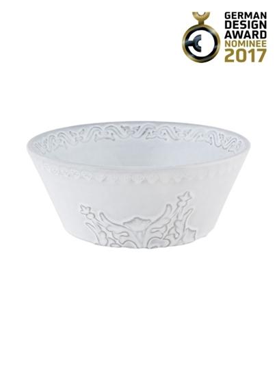 Picture of Rua Nova - Bowl 16 White Antique