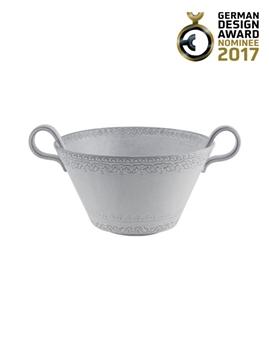 Picture of Rua Nova - Salad Bowl 23 White Antique