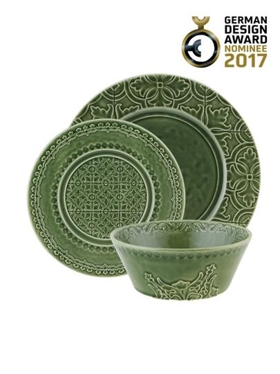 Picture of Rua Nova - 16 pieces set Green