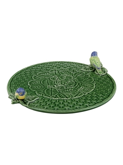 Picture of Cheese Trays - Cheese Tray with Blue Birds
