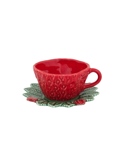 Picture of Strawberries - Tea Cup and Saucer