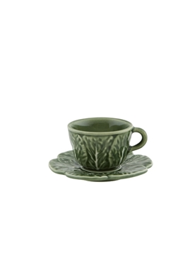 Picture of Cabbage - Coffee cup and saucer