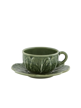 Picture of Cabbage - Tea cup and saucer