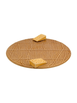 Picture of Cheese Trays - Cheese Tray 32 with Yellow Cheese