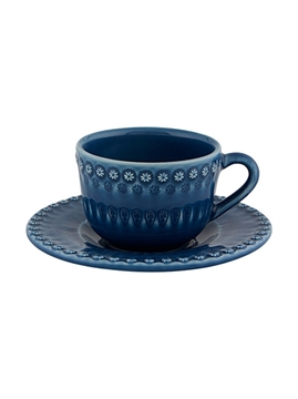Picture of Fantasy - Tea Cup and Saucer Blue