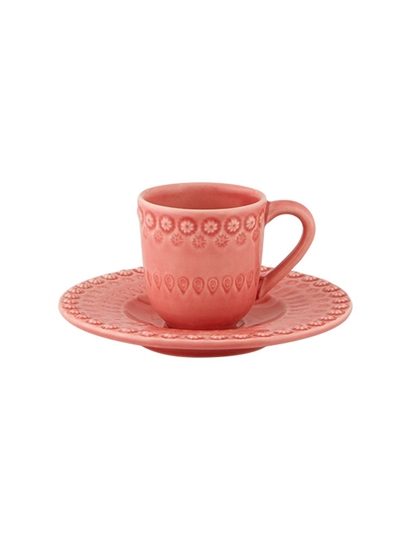 Picture of Fantasy - Coffee Cup and Saucer Pink