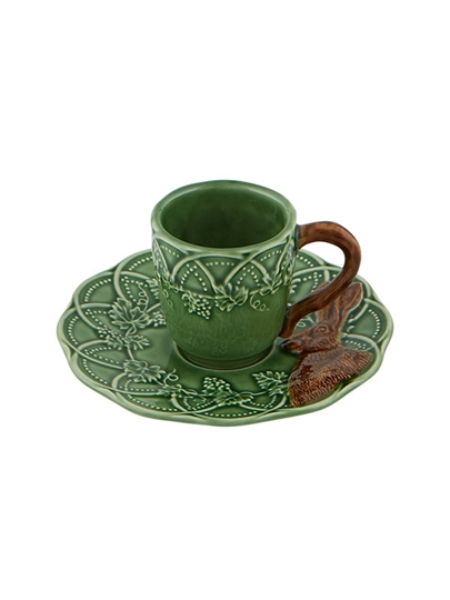 Picture of Woods - Coffee Cup & Saucer Hare