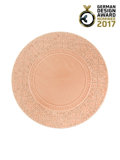 Picture of Rua Nova - Charger Plate 34 Nuance Pink