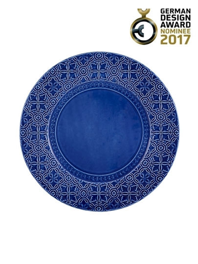 Picture of Rua Nova - Charger Plate 34 Indigo Blue