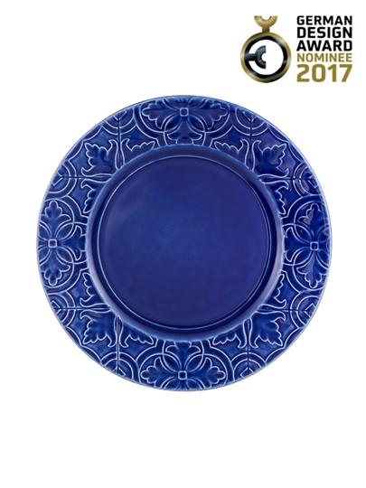 Picture of Rua Nova - Dinner Plate 28 Indigo Blue
