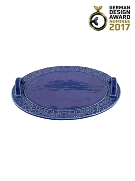 Picture of Rua Nova - Cheese Tray Indigo Blue