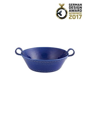 Picture of Rua Nova - Salad Bowl 29 Indigo Blue